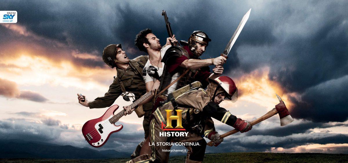 HISTORY CHANNEL La storia continua
