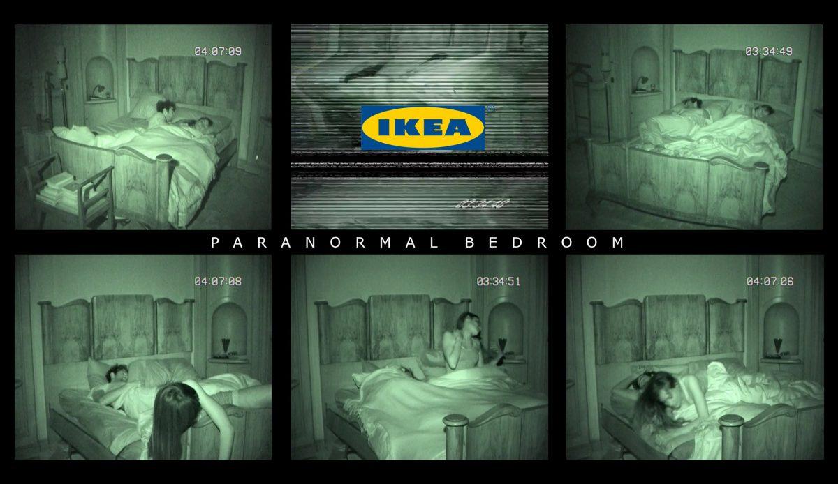 IKEA Paranormal Bedroom