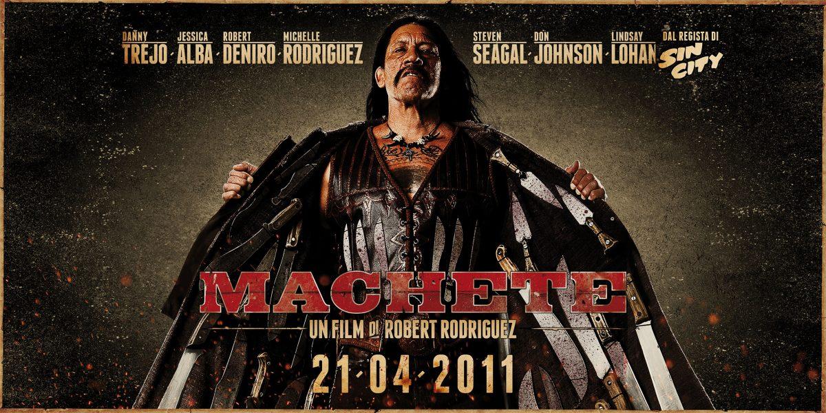 LUCKY RED Machete Poster